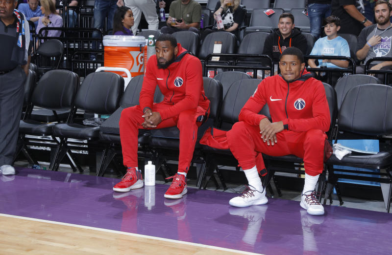 Wizards willing to move anyone in trade, including John Wall, Bradley Beal