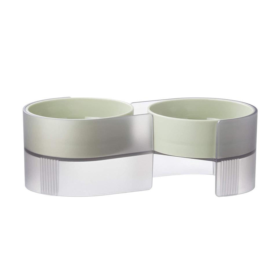 """<h3>Elevated Pet Bowl Set</h3><br>Keep your best pup or feline friend fed without sacrificing an inch of style.<br><br><strong>pidan</strong> Elevated Pet Bowls Set, $, available at <a href=""""https://amzn.to/3szy6g7"""" rel=""""nofollow noopener"""" target=""""_blank"""" data-ylk=""""slk:Amazon"""" class=""""link rapid-noclick-resp"""">Amazon</a>"""