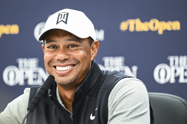 Tiger Woods, ready to roll for another major. (Getty)