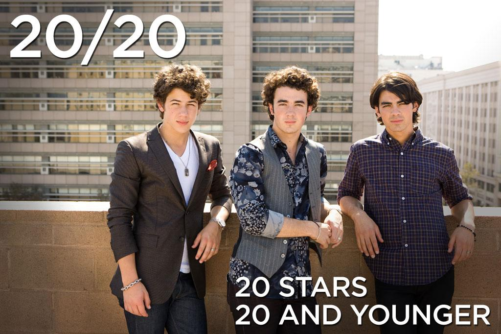 """With an average age of 18.6 years old, Kevin, Joe and Nick Jonas have already raked in staggering amounts of cash in music sales. And with """"<a href=""""http://movies.yahoo.com/movie/1810043455/info"""">Jonas Brothers: The 3-D Concert Experience</a>"""" in theaters this weekend, hordes of tweeny-bopper girls will, in all likelihood, turn the boys into box office champs. Here are 20 other hot young talents age 20 and younger who we predict will be some of the biggest box-office earners of tomorrow."""