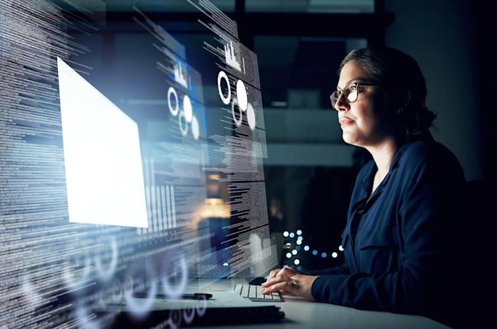 "<span class=""caption"">Studies show women are perfectly capable of getting the job done.</span> <span class=""attribution""><a class=""link rapid-noclick-resp"" href=""https://www.gettyimages.com/detail/photo/she-has-data-management-all-taken-care-of-royalty-free-image/1055056898"" rel=""nofollow noopener"" target=""_blank"" data-ylk=""slk:Dean Mitchell/E+ via Getty Images"">Dean Mitchell/E+ via Getty Images</a></span>"