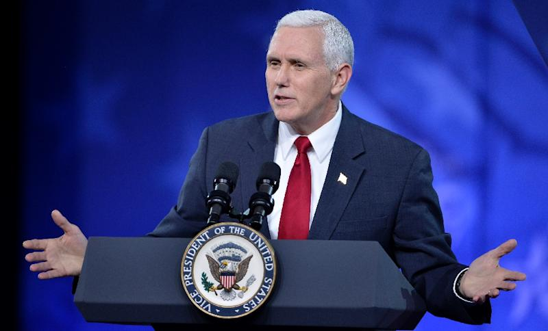 """The Indianapolis Star said Vice President Mike used a private email to at times discuss """"sensitive matters"""" and """"homeland security issues"""" while state governor"""