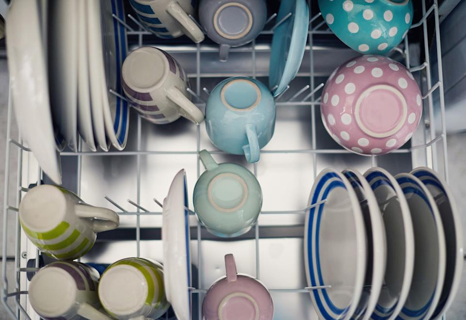 People are divided about where to put the cleaning tablet in the dishwasher. (Getty Images)