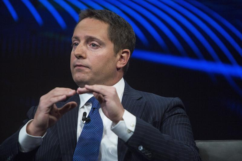 Carson Block, chief investment officer of Muddy Waters Capital LLC, speaks during the Bloomberg Invest Summit in New York, U.S., on Tuesday, June 5, 2018. The summit brings together influential and innovative figures in investing for an in-depth exploration of the challenges and opportunities posed by a rapidly changing financial landscape. Photographer: Victor J. Blue/Bloomberg via Getty Images