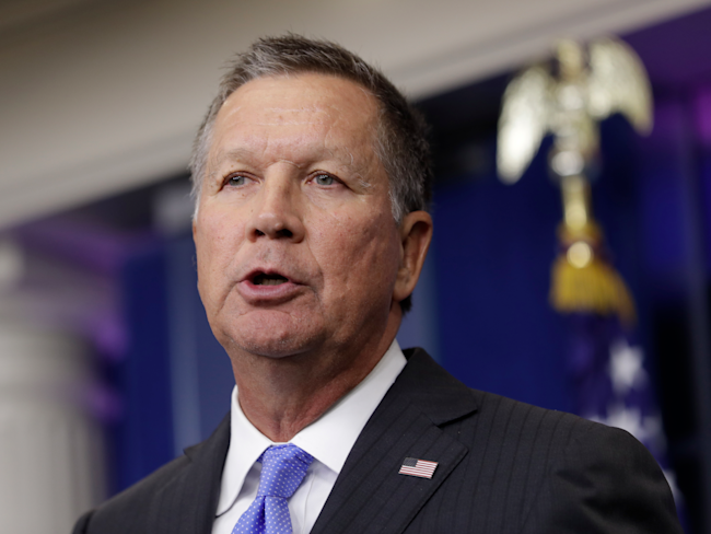 New Hampshire primary voters likely to pick John Kasich over President Trump