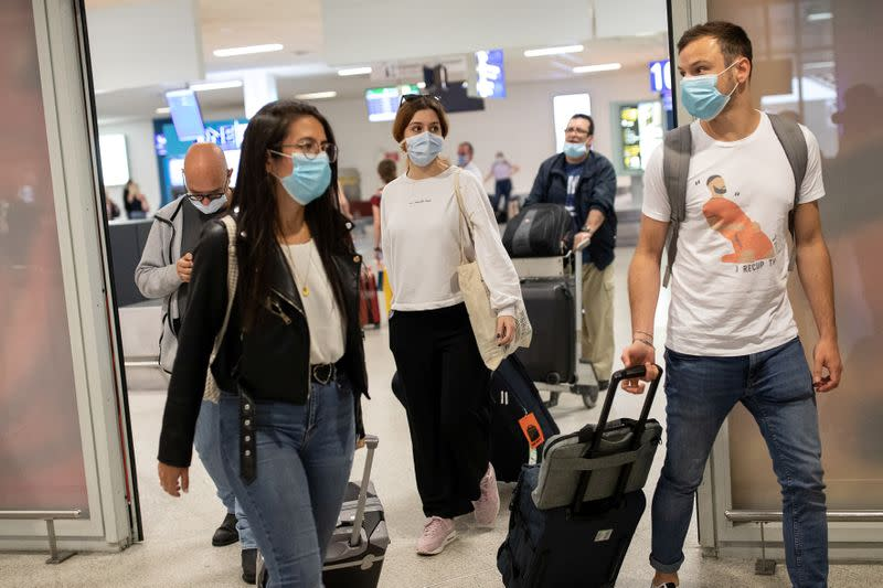Greece opens the tourism season following the easing of measures against the spread of coronavirus disease (COVID-19), in Athens
