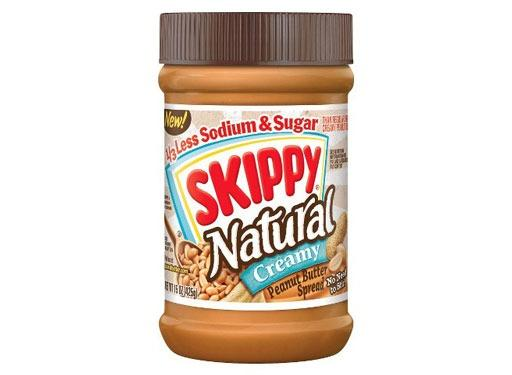 Skippy Creamy Natural Peanut Butter