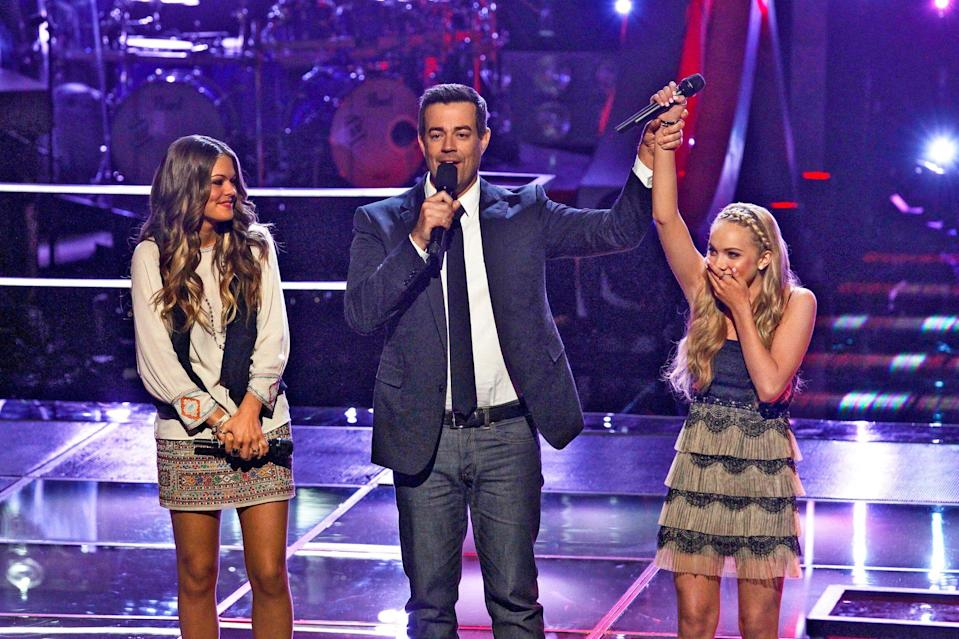 """<p><strong>Do you have a favorite memory from your time on <em>The Voice</em>?</strong></p> <p>Oh that's so hard because the whole entire experience was just one amazing memory after another! There is one that comes to mind, but it was more behind the scenes of the show. We were all in hair and makeup just hours before the live show started, and production told us to stop what we were doing and come to the stage because Usher had a surprise for us. Well, we all proceeded to walk to stage half-dressed, and no big deal, Oprah was standing on stage and wanted to give us some advice! I was the first one in line to say, """"Hi."""" I remember she shook my hand and proceeded to hold my hand the whole entire time she was talking to us ... insane!!! That was a super cool memory.</p> <p><strong>How do you think winning the show changed your life and influenced your career? </strong></p> <p>It turned my life completely around! I was on one of the biggest and hottest singing shows at the time, and I'm this 16 year old that's like a fresh sponge just soaking every little thing in. It prepared me for the music industry and taught me more than I could've ever imagined! It still sometimes takes me back and doesn't feel real.</p> <p><strong>What's the biggest lesson you learned from your coach, Blake Shelton?</strong></p> <p>He was an incredible coach. He noticed how shy I was at the time and how new everything was to me, so he took me under his wing and helped me become more confident. He was there for any questions I had and was able to make me — and everyone on his team — feel comfortable. He was a huge help.</p> <p><strong>What's been your proudest moment since the show?</strong></p> <p>Big question! Thinking about everything I've been blessed to do so far, I feel the thing I'm most proud of since the show is how far I've come as a person. Yes, I had to grow up really fast, but I've been put through tests at a young age and compared to how shy I was, it's like the real Danielle came """