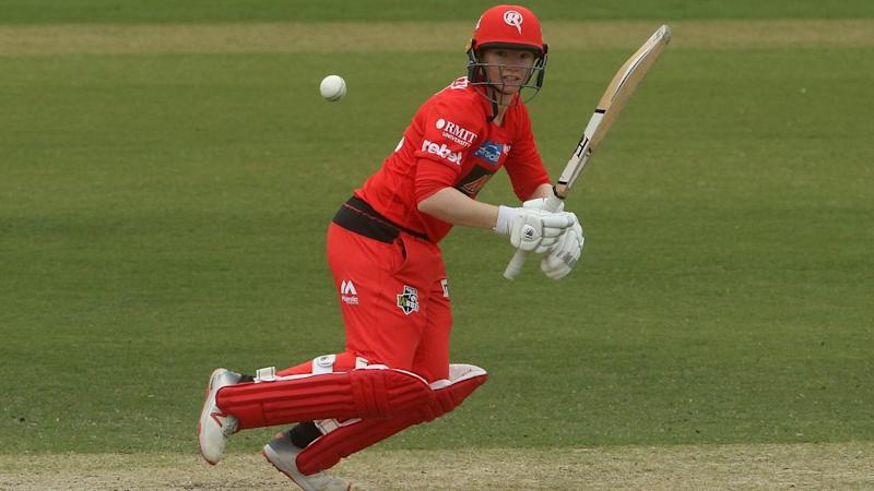 Renegades captain Jess Duffin has topscored to lead her team into the WBBL semi-finals