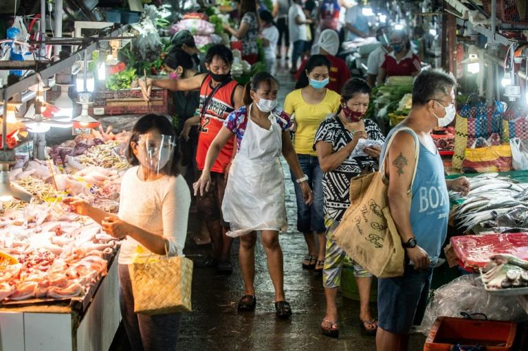Virus-hit Philippine economy plunges into recession