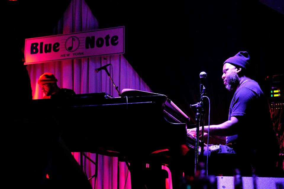 """<p><strong>Big picture: What's the vibe of the place, what's it like?</strong> Blue Note has been one of the best jazz clubs in <a href=""""https://www.cntraveler.com/destinations/new-york-city?mbid=synd_yahoo_rss"""" rel=""""nofollow noopener"""" target=""""_blank"""" data-ylk=""""slk:New York"""" class=""""link rapid-noclick-resp"""">New York</a>, and the world, since the 1980s. It offers music every night at 8 p.m. and 10:30, and on Friday and Saturday nights has a late night series at 12:30 a.m., which showcases emerging talent. If you're looking to get a taste of jazz in NYC, you can do no better.</p> <p><strong>What kinds of events can we see here?</strong> Over the years, legendary musicians including Sarah Vaughan, Dizzy Gillespie, and Ray Charles have performed on the Blue Note Stage, as well as contemporary jazz acts such as Wynton Marsalis, Keith Jarrett, and Chris Botti.</p> <p><strong>How are the seats?</strong> Tables are intimate and close set.</p> <p><strong>Good for kids?</strong> Table seating here is all ages, and the bar is 21-plus, but this setting requires patience and maturity from kids and teens.</p> <p><strong>If we're going to be in town, what—and who—do you think this is best for?</strong> Great for music lovers, especially on a date night.</p>"""
