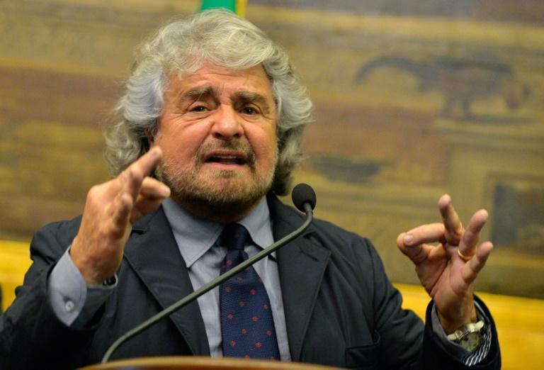Comedian Beppe Grillo launched the M5S in 2009