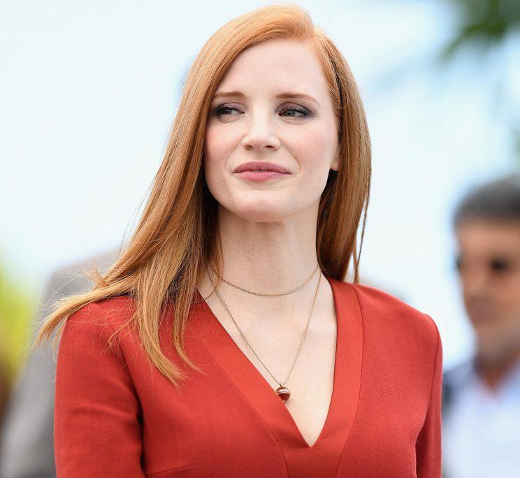 Jessica Chastain at Cannes (Photo: Pascal Le Segretain/Getty Images)