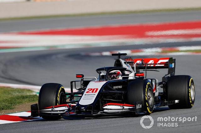 """Kevin Magnussen, Haas VF-20 <span class=""""copyright"""">Andy Hone / Motorsport Images</span>"""