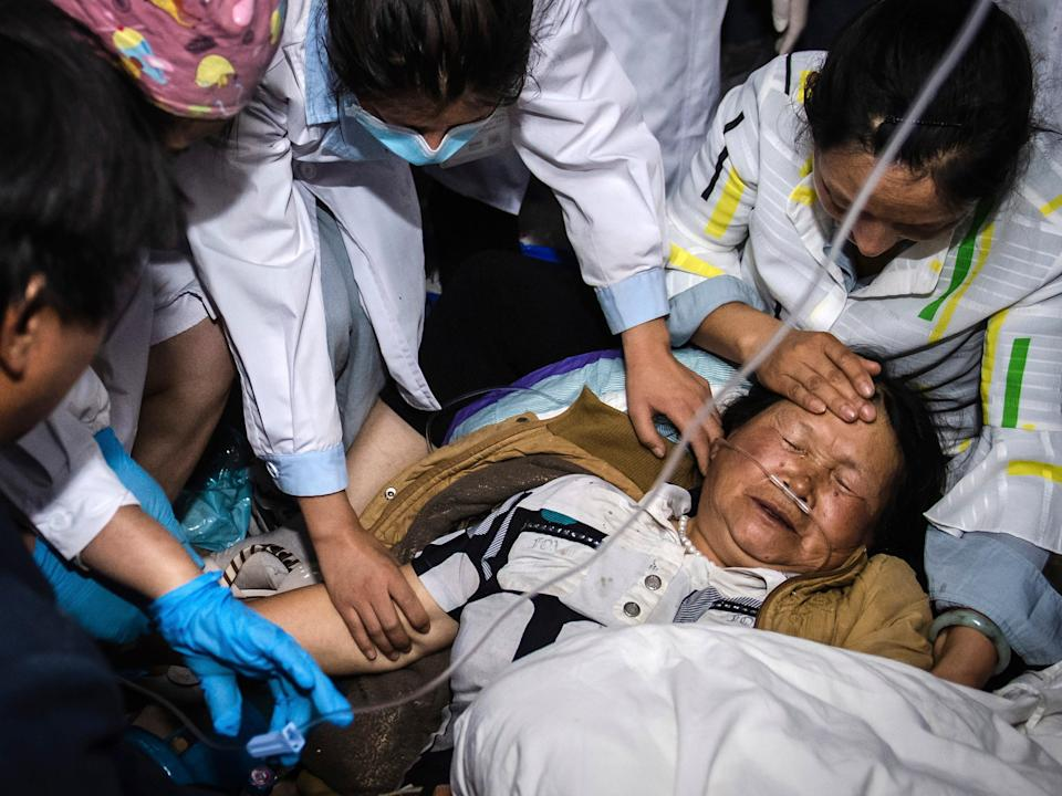 <p>Yunan province's publicity department has said at least 28 people were injured by a 6.4 magnitude earthquake</p> (AP)