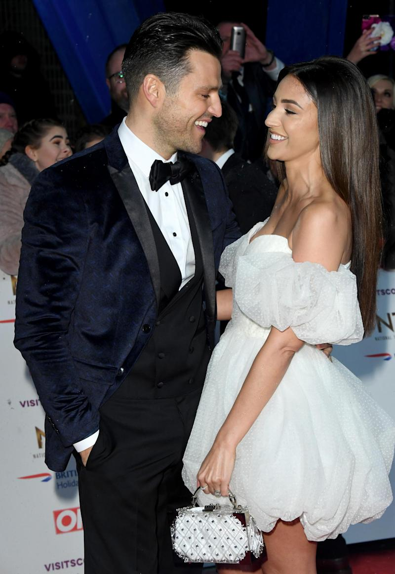 Mark Wright and Michelle Keegan married in 2015. (Getty Images)