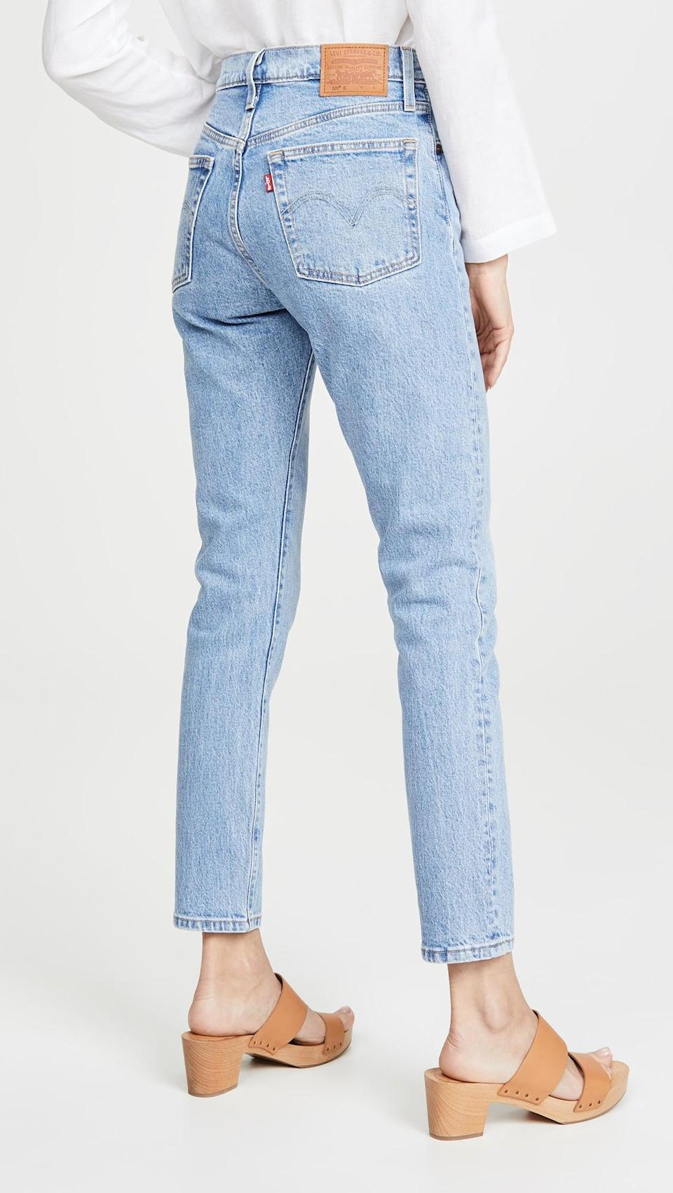 <p>These classic <span>Levi's 501 Skinny Jeans</span> ($98) are always a must.</p>