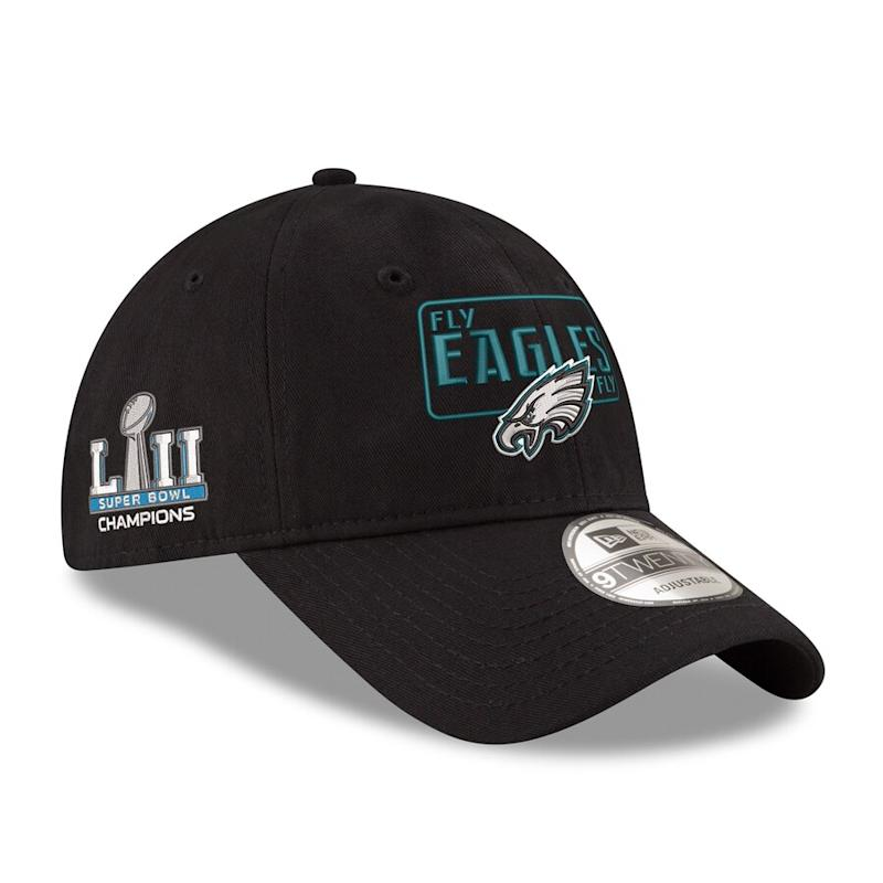 Eagles Super Bowl LII Champions 9TWENTY Adjustable Hat