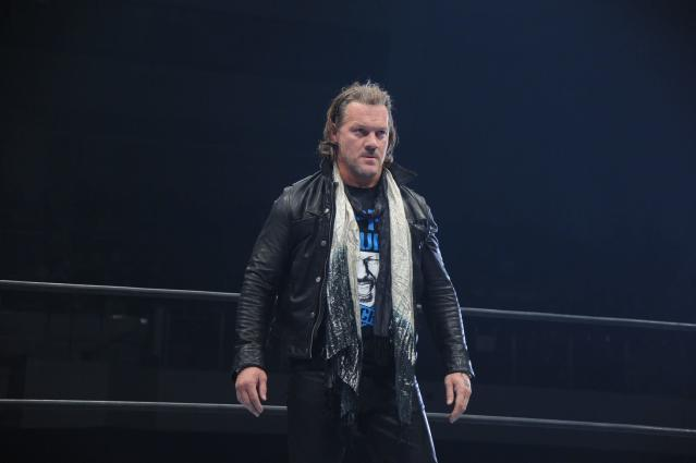 WWE legend Chris Jericho will face Kenny Omega at New Japan Pro Wrestling's Wrestle Kingdom on Jan. 4. (TV Asahi/NJPW)
