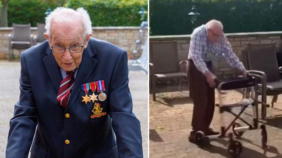 99-year-old veteran's $8 million gift to healthcare workers. Source: JustGifted/Youtube