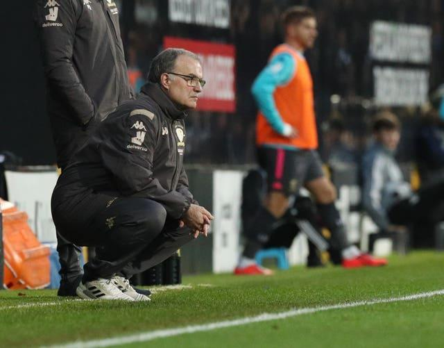 Marcelo Bielsa takes his side to Craven Cottage on Friday evening
