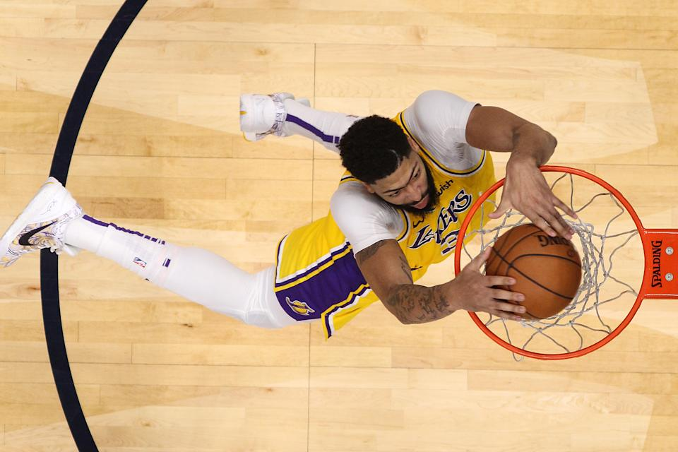 Lakers star Anthony Davis wants nothing to do with the dunk contest during All-Star weekend.