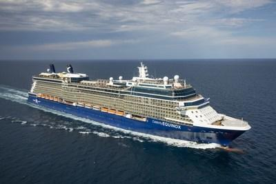 The newly revolutionized Celebrity Equinox is the latest in the Celebrity Cruise fleet to be approved to sail from a US port, setting course for the caribean from Fort Lauderdale on July 25th.