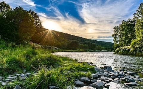 The Catskills is like the Hamptons but for hipsters - Credit: Getty