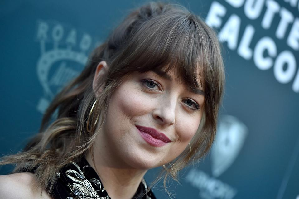 HOLLYWOOD, CALIFORNIA - AUGUST 01: Dakota Johnson attends the LA Special Screening of Roadside Attractions'
