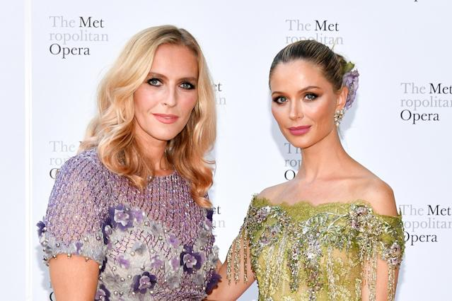 "Chapman (right) and her business partner, Keren Craig, didn't think it was ""appropriate"" to promote Marchesa after the Weinstein allegations broke. (Photo: Dia Dipasupil/Getty Images)"