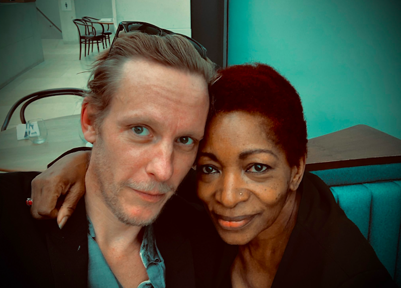 Laurence Fox and Bonnie Greer: Laurence Fox Twitter