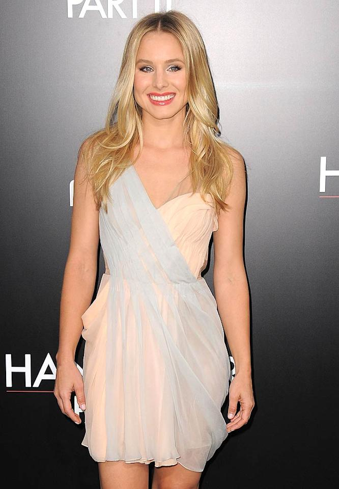 "Kristen Bell (""Veronica Mars,"" Forgetting Sarah Marshall"") turns 31 Jordan Strauss/<a href=""http://www.wireimage.com"" target=""new"">WireImage.com</a> - May 19, 2011"