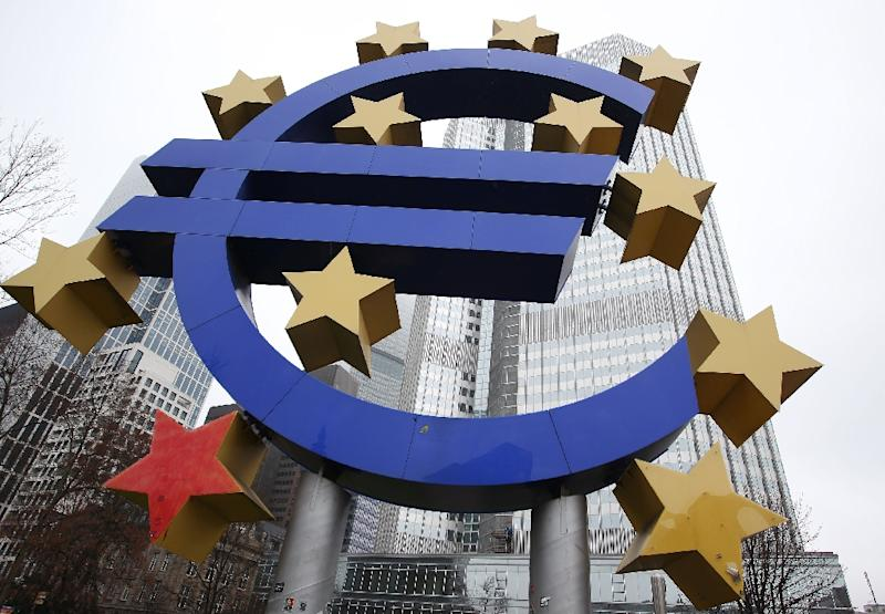 Eurozone inflation stood at 0.1 percent in November, according to the Eurostat statistics agency (AFP Photo/Daniel Roland)