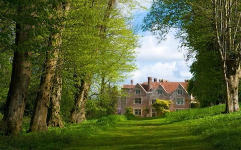 Chawton House is a grade ll* listed Elizabethan manor house in the village of Chawton in Hampshire. It was formerly the home of Jane Austen's brother, - Credit: Philip Enticknap / Alamy