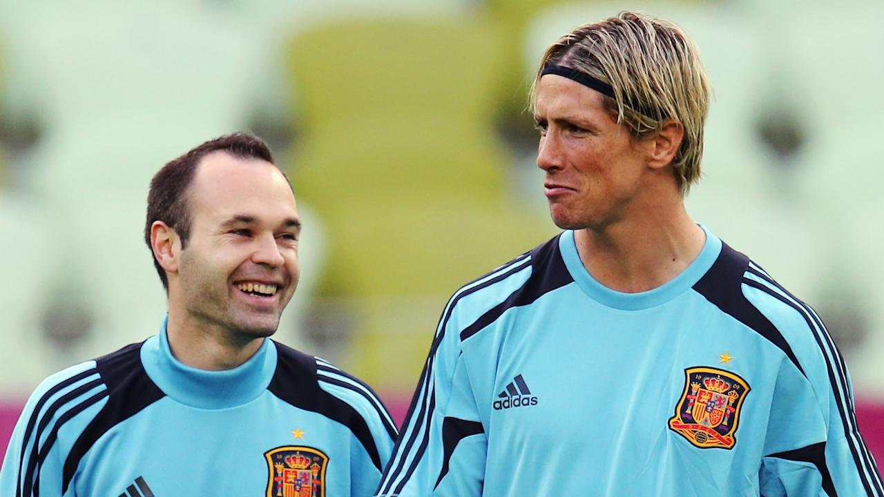 The striker will go head to head with his former Spain team-mate in the last game of his career with old strike partner David Villa also in opposition