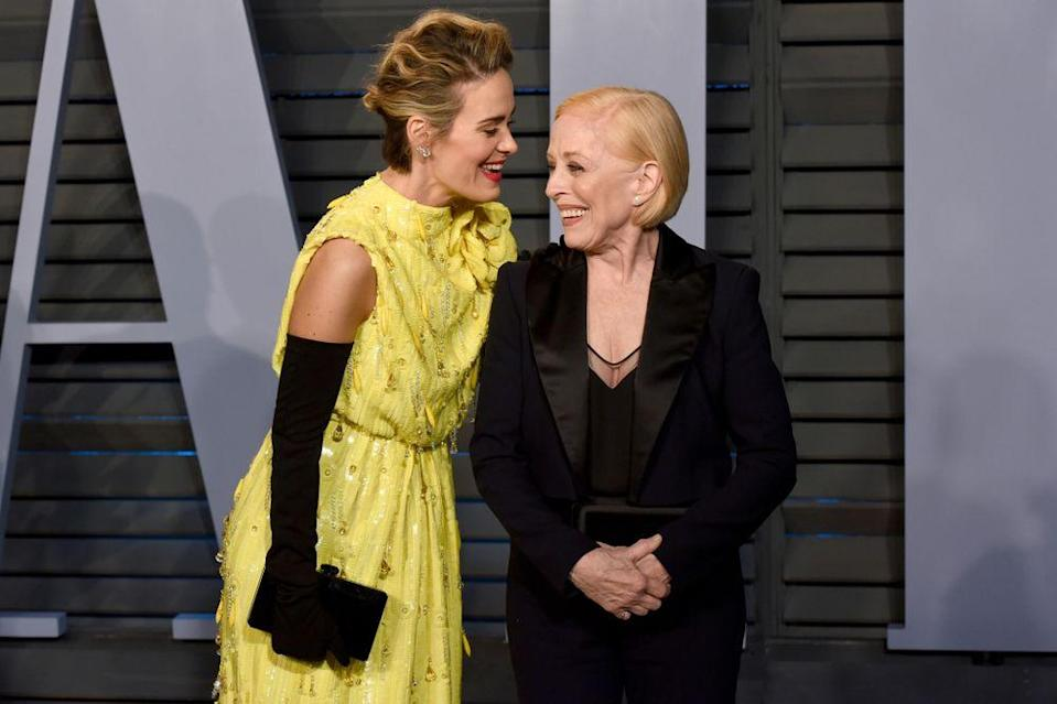 Sarah Paulson and Holland Taylor