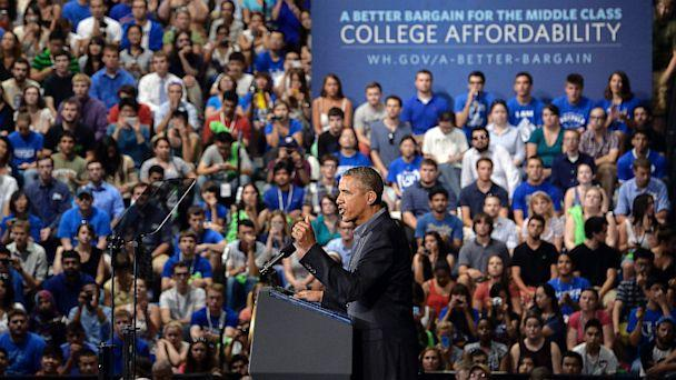 gty barack obama buffalo university ll 130822 16x9 608 Obama Unveils New College Affordability Plan