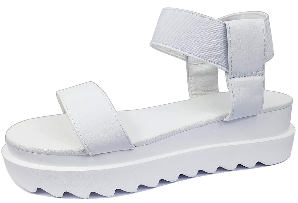 "<h2>Harper Shoes Platform Comfort Sandals</h2><br><em>Shop sandals on <strong><a href=""https://www.amazon.com/Sandals-Womens/b/ref=sv_sl_fl_679425011?ie=UTF8&node=679425011"" rel=""nofollow noopener"" target=""_blank"" data-ylk=""slk:Amazon"" class=""link rapid-noclick-resp"">Amazon</a></strong></em><br><br><strong>Harper Shoes</strong> Platform Comfort Sandals, $, available at <a href=""https://amzn.to/2RaFHnM"" rel=""nofollow noopener"" target=""_blank"" data-ylk=""slk:Amazon"" class=""link rapid-noclick-resp"">Amazon</a>"