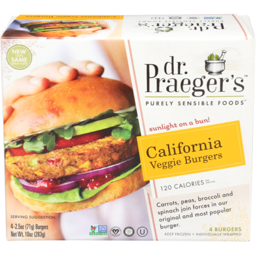 "<p><strong>Dr. Praeger's</strong></p><p>instacart.com</p><p><strong>$4.99</strong></p><p><a href=""https://go.redirectingat.com?id=74968X1596630&url=https%3A%2F%2Fwww.instacart.com%2Fproducts%2F25972-dr-praeger-s-veggie-burgers-california-2-5-oz&sref=https%3A%2F%2Fwww.goodhousekeeping.com%2Ffood-products%2Fg35886676%2Fbest-vegan-food-products%2F"" rel=""nofollow noopener"" target=""_blank"" data-ylk=""slk:Shop Now"" class=""link rapid-noclick-resp"">Shop Now</a></p><p>We're dubbing this pick the unofficial king of veggie burgers. <strong>Packed with real vegetables like carrots and string beans, our nutrition experts appreciate the real whole foods ingredient list </strong>and the fact that this burger is packed with 10 different kinds of veggies. Not only does this choice cook up well and boast great flavor, but it makes for a satisfying option in a pinch.</p>"