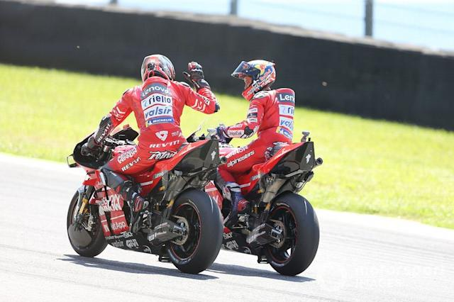 """Ducati Team <span class=""""copyright"""">Gold and Goose / LAT Images</span>"""