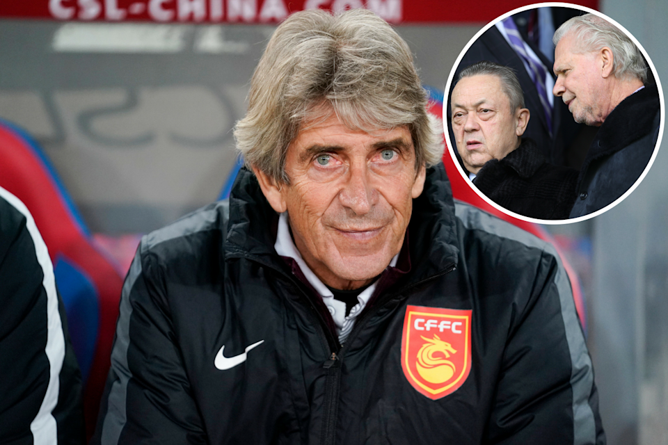 West Ham are chasing former Manchester City boss Manuel Pellegrini to replace David Moyes, according to reports