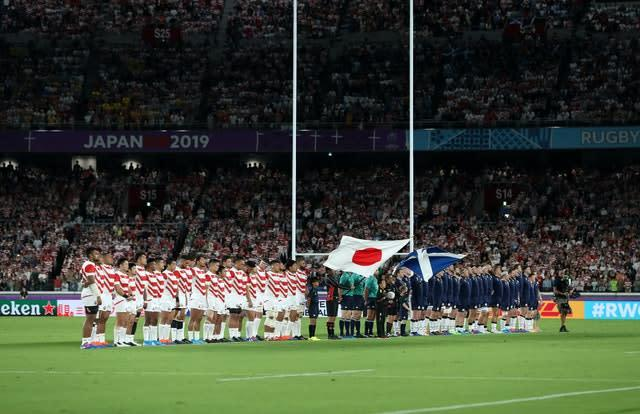 Scotland are due to host Japan (PA)