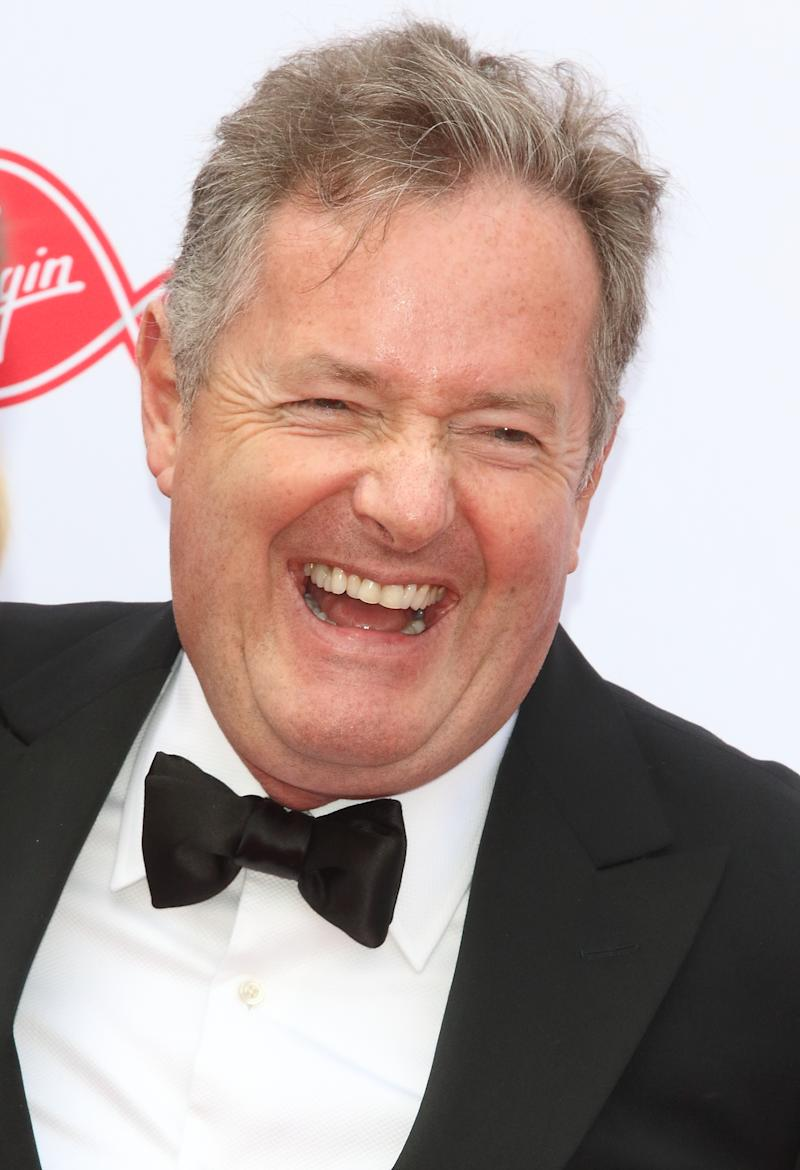 LONDON, UNITED KINGDOM - 2019/05/12: Piers Morgan seen on the red carpet during the Virgin Media BAFTA Television Awards 2019 at The Royal Festival Hall in London. (Photo by Keith Mayhew/SOPA Images/LightRocket via Getty Images)