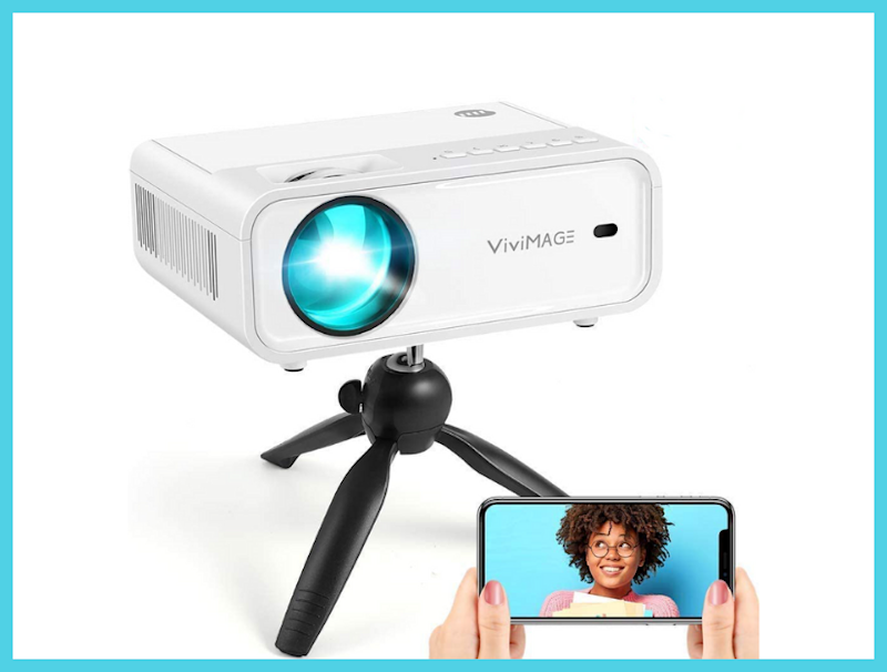 Get this Vivimage Explore 2 Mini Wi-Fi Digital Projector for just $110. (Photo: Amazon)