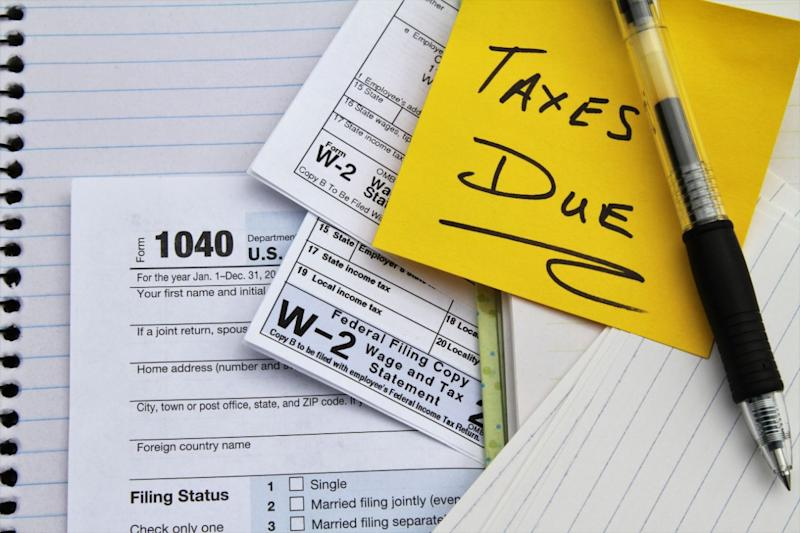 Taxes are a drag. Make 'em easier with a system designed for novices. (Photo: Getty Images)