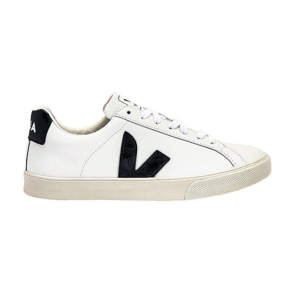"""<p><strong>VEJA</strong></p><p>shopbop.com</p><p><strong>$120.00</strong></p><p><a href=""""https://go.redirectingat.com?id=74968X1596630&url=https%3A%2F%2Fwww.shopbop.com%2Fesplar-logo-sneakers-veja%2Fvp%2Fv%3D1%2F1547721792.htm&sref=https%3A%2F%2Fwww.bestproducts.com%2Fbeauty%2Fg154%2Ftop-gifts-for-her%2F"""" rel=""""nofollow noopener"""" target=""""_blank"""" data-ylk=""""slk:Shop Now"""" class=""""link rapid-noclick-resp"""">Shop Now</a></p><p>We've been wearing these leather kicks since before Meghan Markle <a href=""""https://www.harpersbazaar.com/celebrity/latest/a24015441/meghan-markle-white-veja-sneakers-royal-tour-australia-shop/"""" rel=""""nofollow noopener"""" target=""""_blank"""" data-ylk=""""slk:made them culturally relevant"""" class=""""link rapid-noclick-resp"""">made them culturally relevant</a> — all you have to do is drop that knowledge on your intended giftee and she'll be running to get her new sneakers on.</p>"""