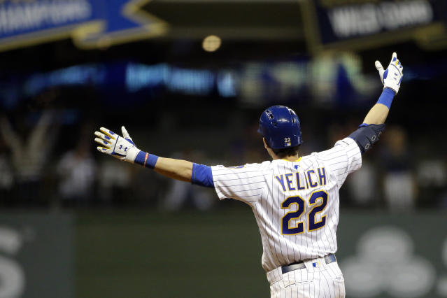 Milwaukee may be on the outside looking in, but the Brewers have an easy schedule moving forward. (AP Photo/Aaron Gash)