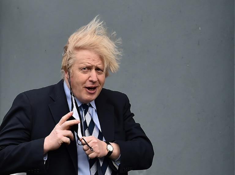 """Boris Johnson said the British foreign policy overhaul was aimed at supporting an """"open and resilient international order"""""""