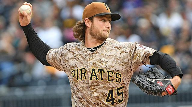 While general manager Neal Huntington hasn't sounded particularly inclined to move Gerrit Cole in the past, now is the best possible time (AP)