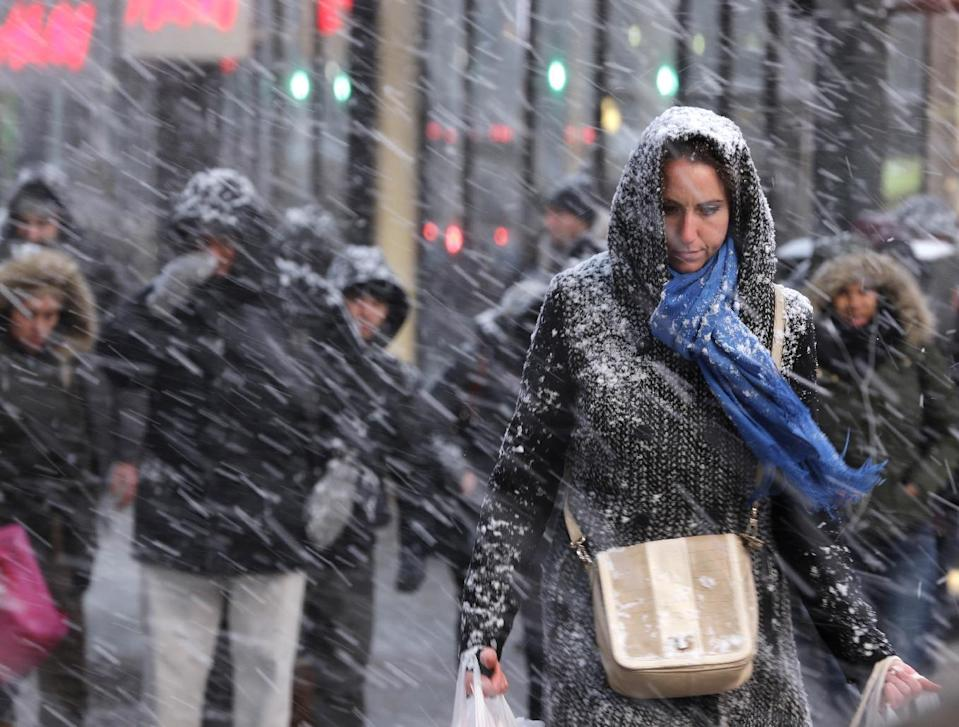 Companies try to capitalize on Northeast blizzard